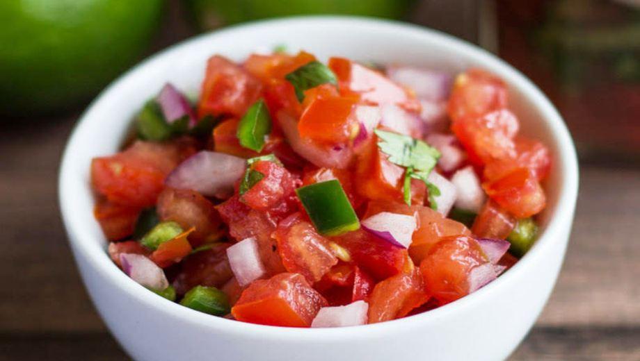 Receta fácil de la salsa mexicana pico de gallo