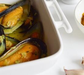 Cómo preparar mejillones al curry