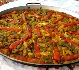 Receta vegana de arroz de verduras