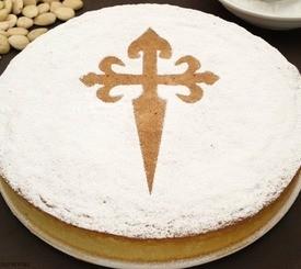 Tarta de Santiago: la receta de tarta de almendras original