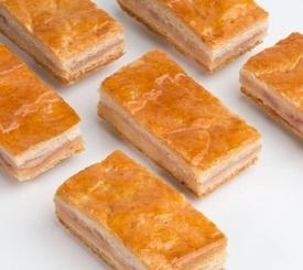 Empanada de jamón york y queso