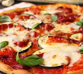 Cómo hacer pizza vegetal