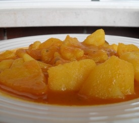 Receta fácil de patatas viudas