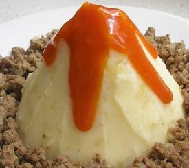 Receta fácil de montaña de patata